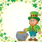 Leprechaun theme image 6 Stock Photo