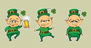 Leprechaun três Fotografia de Stock Royalty Free