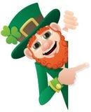 leprechaun znak Zdjęcie Royalty Free