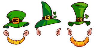 Leprechauns hats. On a white background vector illustration