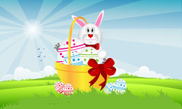 Lepri di Pasqua Royalty Illustrazione gratis