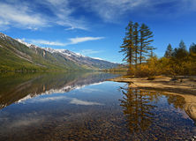 湖Leprindo 免版税库存照片
