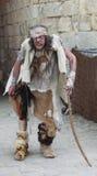 Leprous man. During Week-end de L'ascension-Grand Fete medievale in Nogent de Rotrou, France, 13-16.05.2010 Royalty Free Stock Image