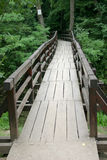 Lepterija Brücke Stockfotografie