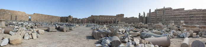 Leptis magna Stock Images