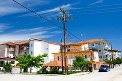 Leptokaria town, Greece Royalty Free Stock Photography
