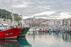 Lequeitio baskijski kraj Zdjęcie Stock