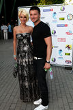Lera Kudryavtseva and Sergey Lazarev Royalty Free Stock Photos