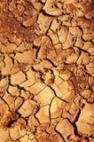 lera räknade sprickor smutsar arkivbild
