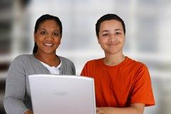 Leraar en Student Royalty-vrije Stock Afbeelding