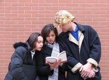 Leraar & Studenten Stock Afbeelding