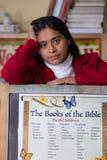 Leraar Teaching Bible Class stock fotografie
