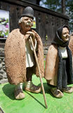 Leragamal man och kvinna Royaltyfria Foton