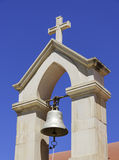 Lerapetra church Belltower Royalty Free Stock Images