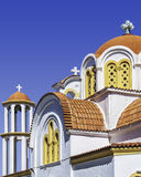 Lerapetra church close up Stock Images