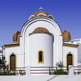 Lerapetra church rear Royalty Free Stock Image