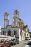 Lerapetra church from roadside Stock Photos