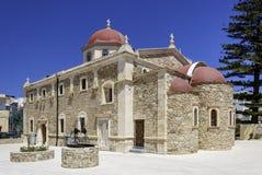 Lerapetra church of Saint George Stock Image