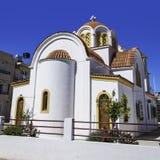 Lerapetra church square Royalty Free Stock Images