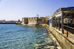 Lerapetra fort Royalty Free Stock Image