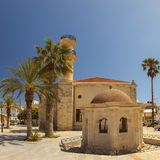 Lerapetra mosque Royalty Free Stock Images