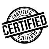 Lerciume certificato della gomma del bollo Immagini Stock