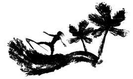 Lerciume del surfista Immagini Stock Libere da Diritti