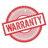 Lerciume della gomma del bollo della garanzia Immagine Stock Libera da Diritti