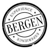 Lerciume della gomma del bollo di Bergen illustrazione vettoriale