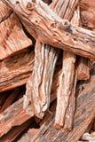 Lerciume di legno strutturato ruvido fotografia stock libera da diritti