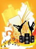 Lerciume di musica Immagini Stock Libere da Diritti