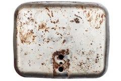 Lerciume di piastra metallica fotografie stock libere da diritti