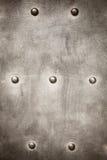 Lerciume di piastra metallica come struttura del fondo Fotografie Stock