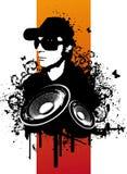 Lerciume DJ Fotografia Stock