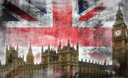 Lerciume Londra Fotografia Stock Libera da Diritti
