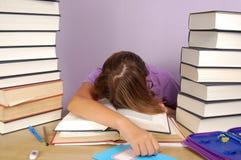 Lerende student Stock Foto