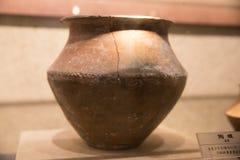 Lergods av Longshan kultur royaltyfri fotografi
