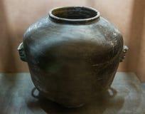 Lergods av Longshan kultur royaltyfria bilder