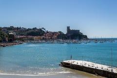 Lerici, cinque terre. Liguria Italy Stock Image