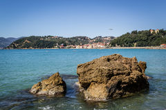 Lerici, cinque terre. Liguria Italy royalty free stock images