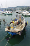 Lerici, the harbor Stock Images