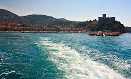 Lerici, Itália - 7 de agosto de 2015 imagens de stock royalty free