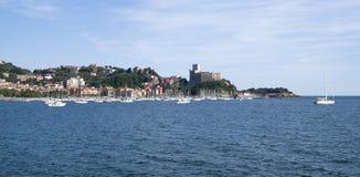 Lerici, Italian Riviera Royalty Free Stock Photography