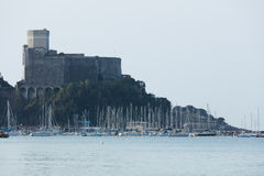 Lerici, Italy  view of port Royalty Free Stock Photography