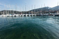 Lerici, Italy  view of port Royalty Free Stock Image