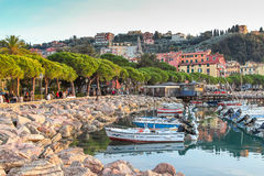 Lerici, Italy. Stock Photo