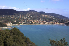 Lerici - Liguria panorama Stock Images
