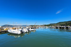Lerici Port - La Spezia Italy Royalty Free Stock Photography