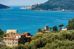 Lerici and Portovenere - Liguria Italy royalty free stock image