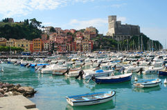 Lerici. Town of Lerici, Liguria, Italy Stock Photo